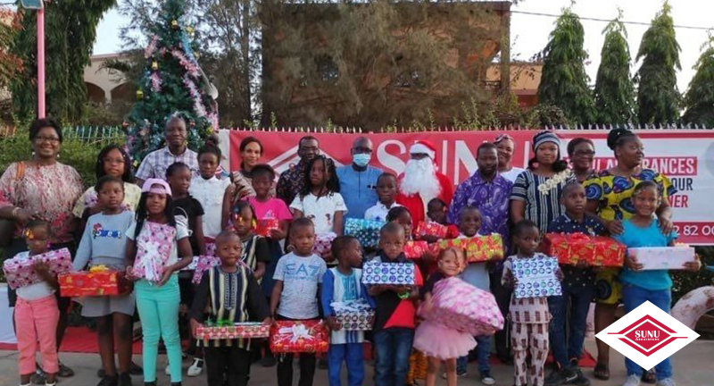 SUNU ASSURANCES IARD BURKINA FASO: 2020 CHRISTMAS TREE PARTY