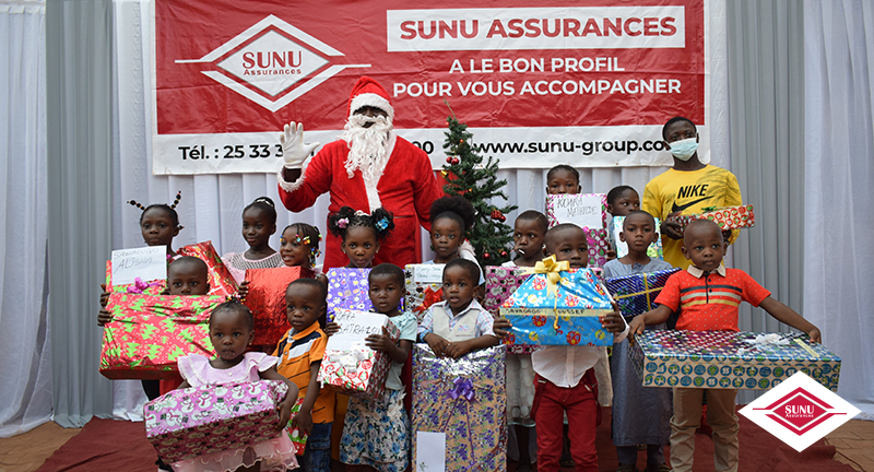 SUNU ASSURANCES VIE BURKINA FASO: 2020 CHRISTMAS TREE PARTY