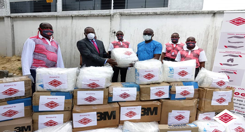 SUNU GROUP: FIGHT AGAINST COVID-19, SUNU GROUP COMPANIES IN NIGERIA MAKE A DONATION