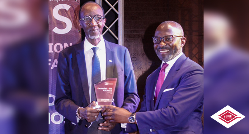 SUNU GROUP: Mr. PATHE DIONE RECEIVES THE INSURER OF THE YEAR AWARD AT THE 3rd EDITION OF FINANCIAL AFRIK AWARDS